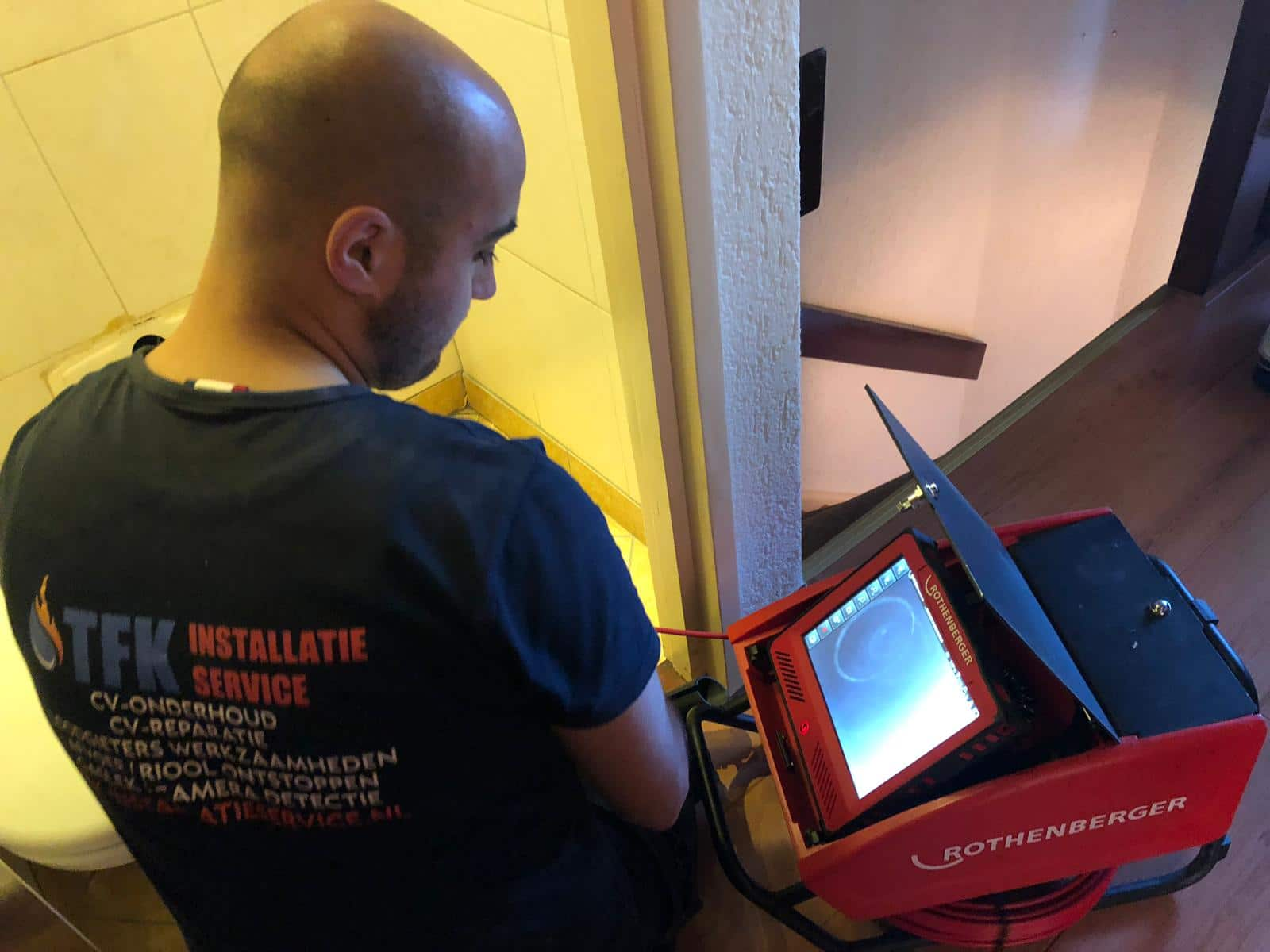Rioolacamera inspectie ontstoppigsbedrijf Amsterdam